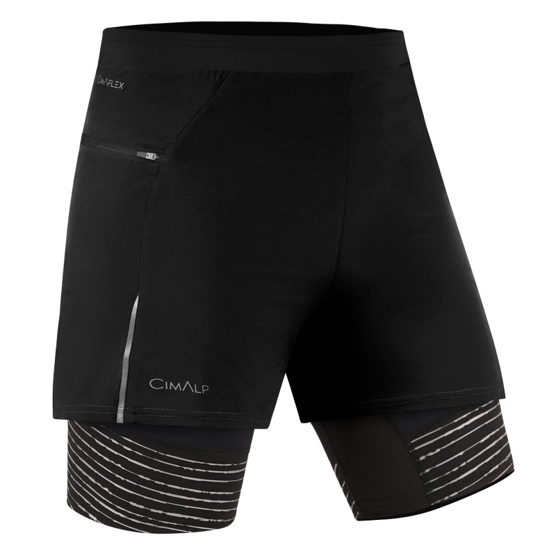 Shorts de Trail Running 2 en 1