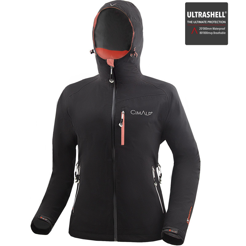 Chaqueta Ultrashell impermeable y ultratranspirable