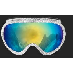 Gafas de esquí doble pantalla especial alta luminosidad