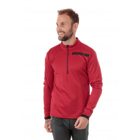 Sweat 1/2 zip chaud CHAMOIS
