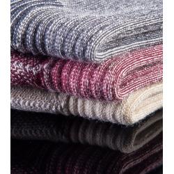Calcetines cálidos de lana merina