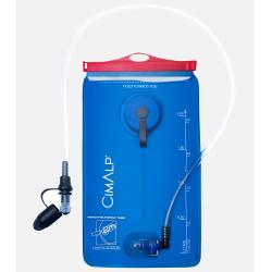 Poche à eau anti-microbienne 2L et kit de nettoyage