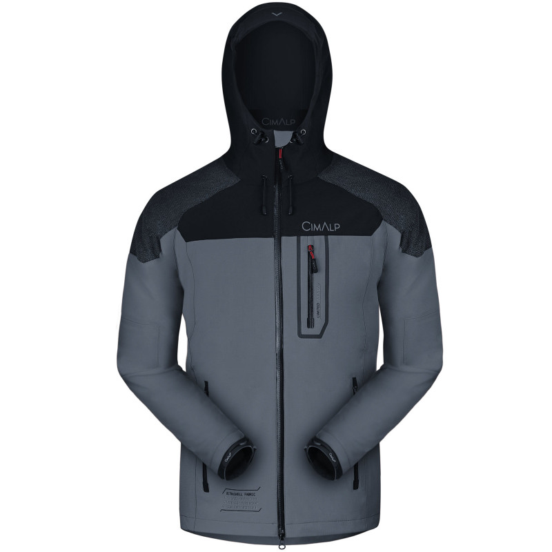 Chaqueta Ultrashell impermeable y ultratranspirable con refuerzos Kevlar