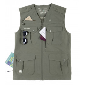 Gilet stretch multipoches