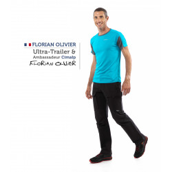 Pantalón de montaña stretch 3D-Flex + refuerzos Schoeller